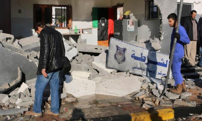 L'Italie évacue 15 policiers libyens blessés à Zliten