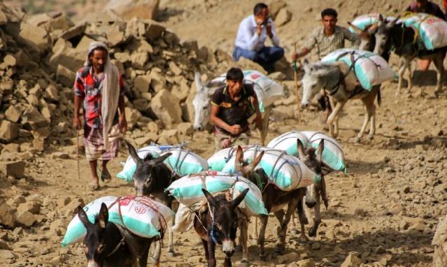 La coalition arabe largue 40 tonnes d'aides sur Taëz