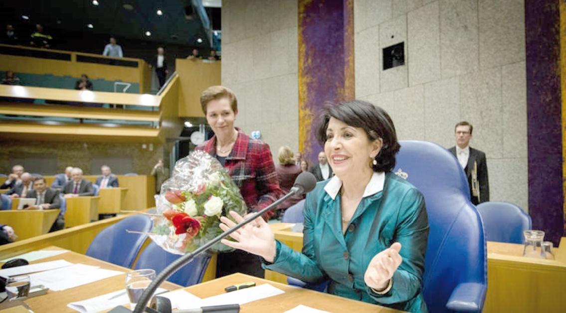 Une Marocaine à la tête de la Chambre néerlandaise des représentants