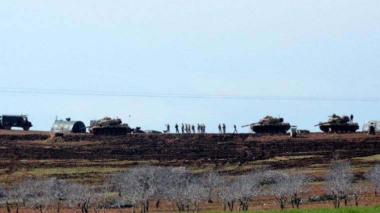 Tirs d'obus depuis la Syrie dans des localités de sud de la Turquie