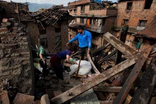 La menace d'un séisme futur plane toujours sur Katmandou