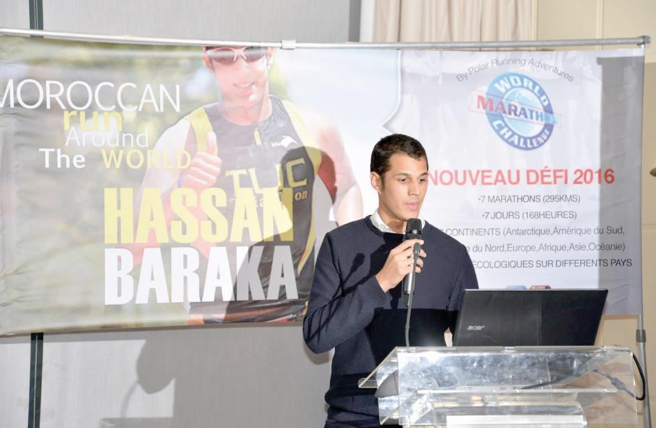 """Dernière ligne droite pour Hassan Baraka au Chili avant le """"World Marathon Challenge"""""""