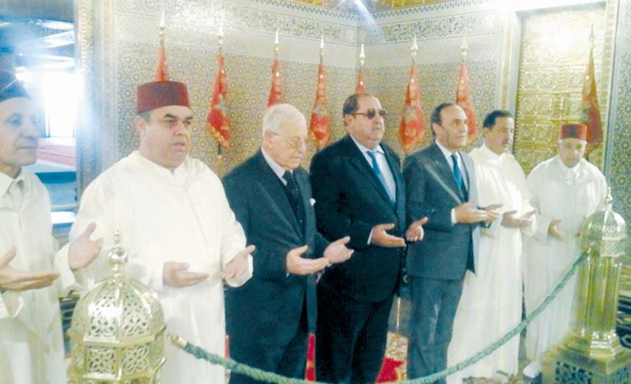 Le Bureau politique se recueille sur l'âme de S.M Mohammed V et S.M Hassan II
