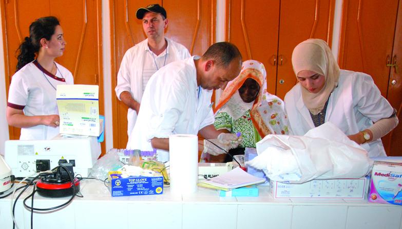 Campagne médicale en faveur des communes de Tendit et Outate El Haj à Boulemane