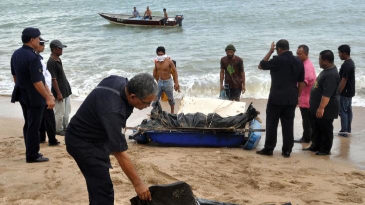 Naufrage d'un bateau d'immigrés clandestins en Malaisie