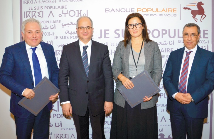La Banque Populaire s'associe à Barid Al Maghrib pour l'enregistrement des auto-entrepreneurs
