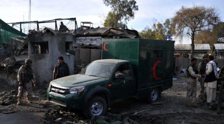 Attentat suicide contre une base de la police à Kaboul