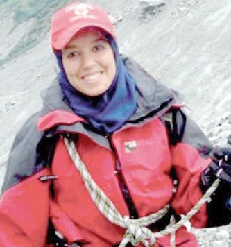 Participation de Bouchra Baibanou au Trophée mer et montagne