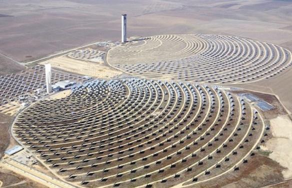 """La Centrale solaire """"Nour I"""", un investissement stratégique"""