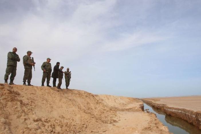 La Tunisie a terminé la clôture à sa frontière avec la Libye