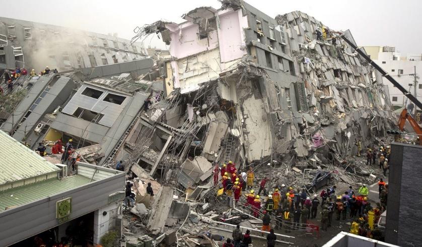 Des dizaines de victimes dans un tremblement de terre à Taïwan