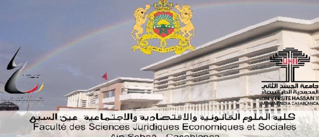 La Faculté des sciences juridiques, économiques et sociales de Aïn Sbaâ a un nouveau doyen