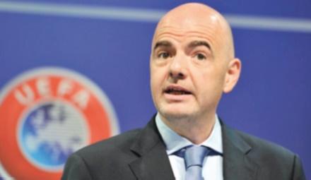 Présidence Fifa: Les clubs européens souhaitent bonne chance à Infantino