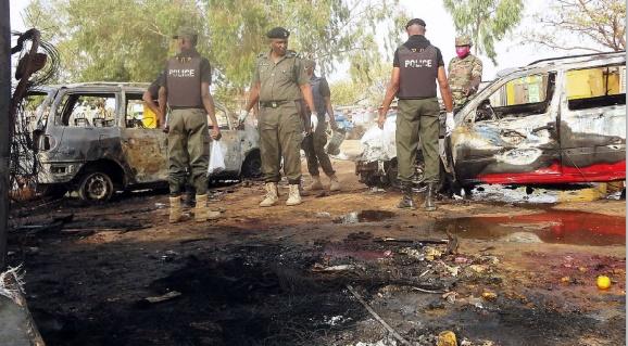 58 morts dans un double attentat suicide au Nigeria