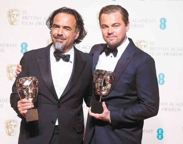 "DiCaprio, Inarritu et ""The Revenant"" grands gagnants des Baftas"