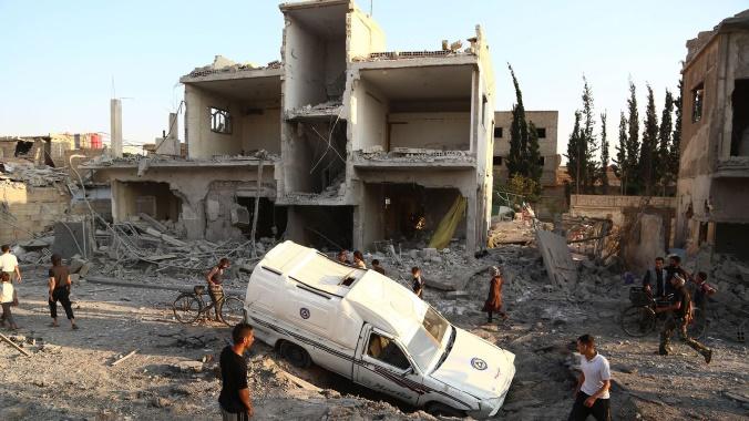 Raids contre un hôpital soutenu par MSF en Syrie