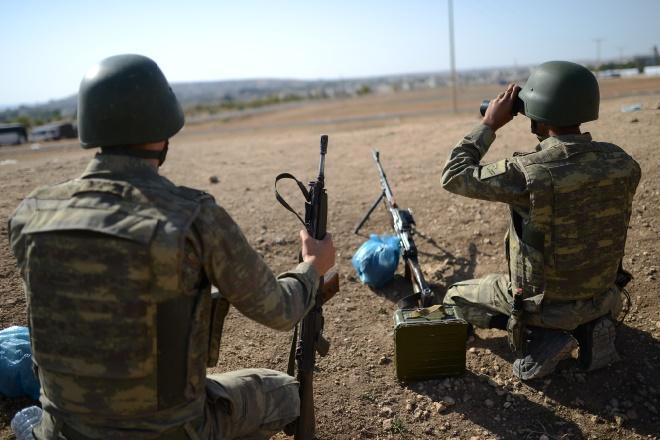 Quatrième jour de bombardements turcs sur Azaz et environs