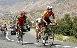 Les cyclistes marocains débutent les Championnats d'Afrique sur les chapeaux de roues