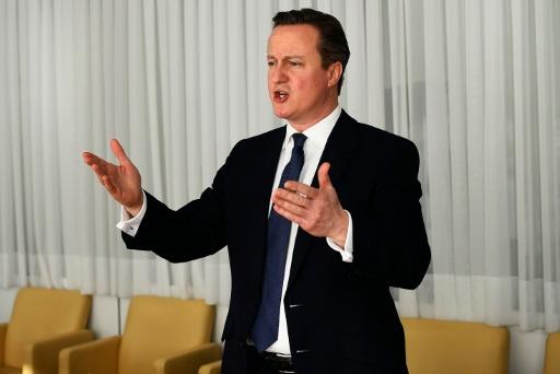 Cameron va tenter de convaincre les Britanniques d'éviter un Brexit