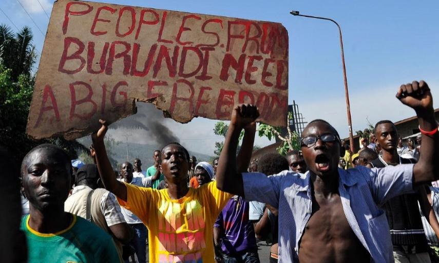 10 explosions de grenades à Bujumbura