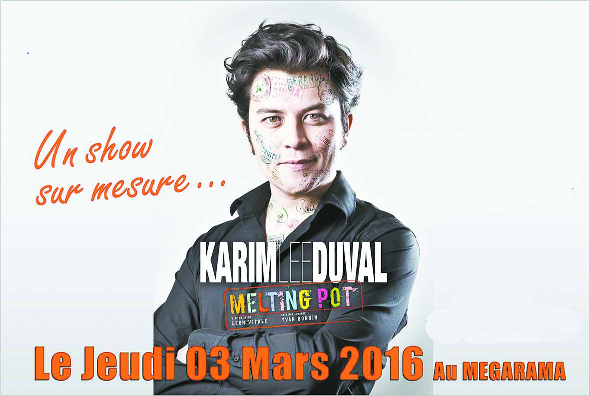 Karim Duval bientôt en spectacle à Casablanca