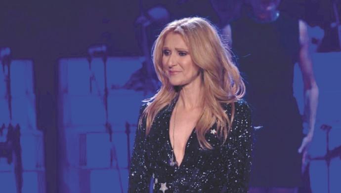 Céline Dion craque en plein concert