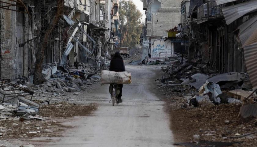 Intenses raids russes sur des fiefs rebelles en Syrie