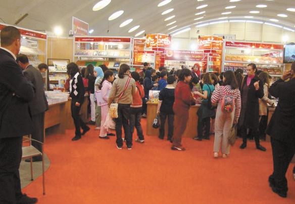 370.000 visiteurs au 22ème Salon international de l'édition et du livre