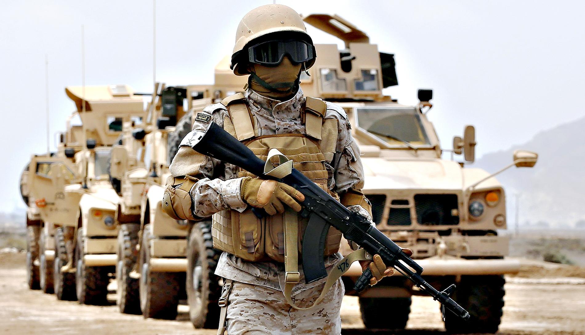 Participation marocaine à des manœuvres militaires en Arabie Saoudite