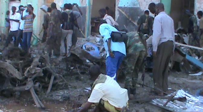 Double attentat à Baidoa en Somalie