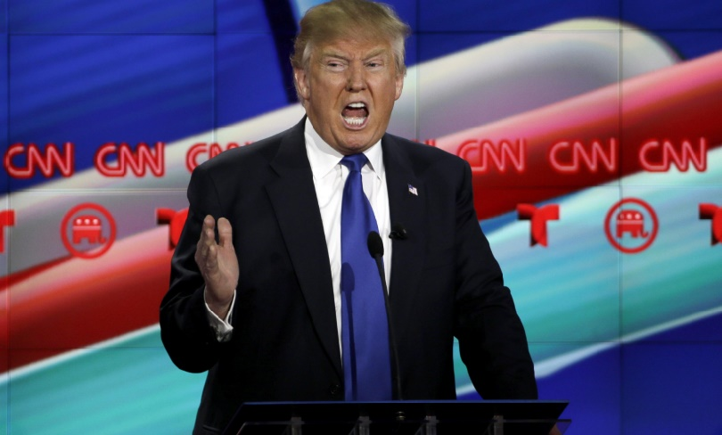 Les rivaux de Donald Trump font front commun lors d'un débat