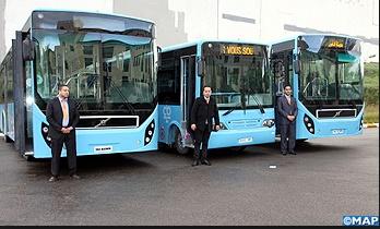 Des autobus dotés d'une connexion internet Wifi 4 G en circulation à Fès