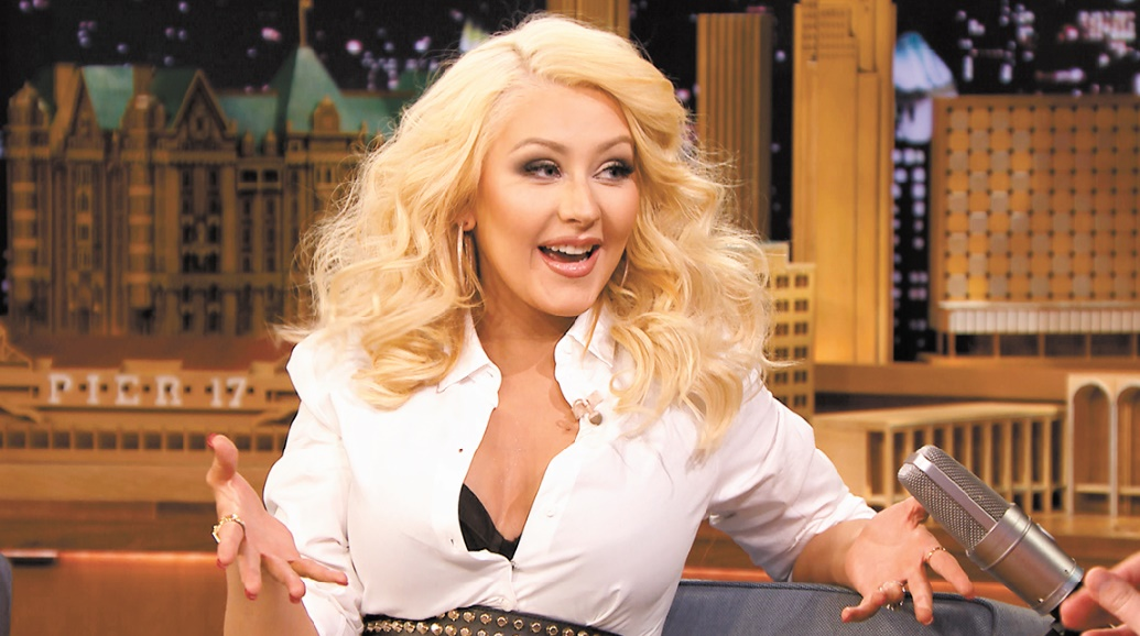 Christina Aguilera en clôture du Festival Mawazine