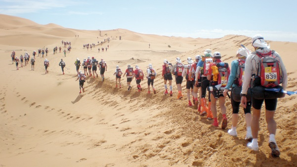 Participation de 1200 athlètes au 31ème Marathon des sables