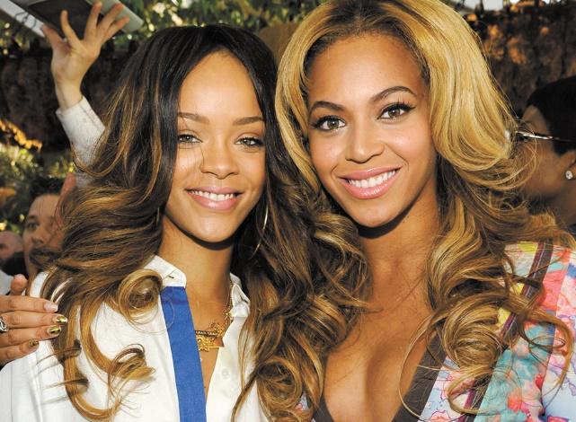 Rihanna et Beyoncé, reines de Spotify