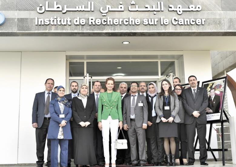 SAR la Princesse Lalla Salma inaugure l'Institut de recherche sur le cancer