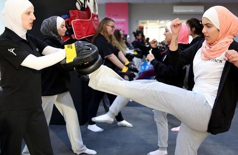 A Amman, des cours d'autodéfense pour donner de la force aux femmes