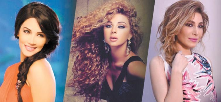 Diana Haddad, Myriam Fares et Yara à Mawazine