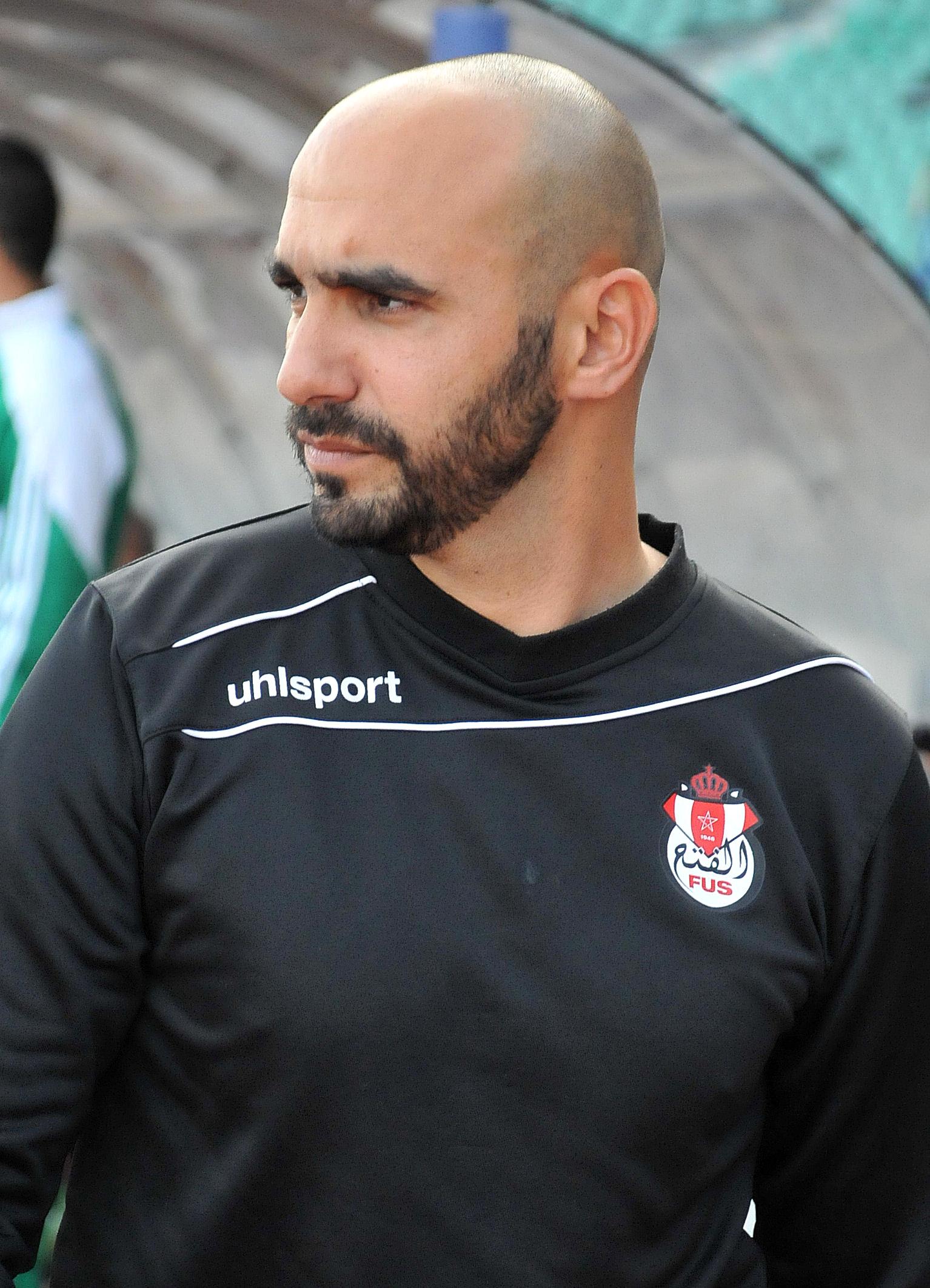 Walid Regragui a vu rouge à Douala