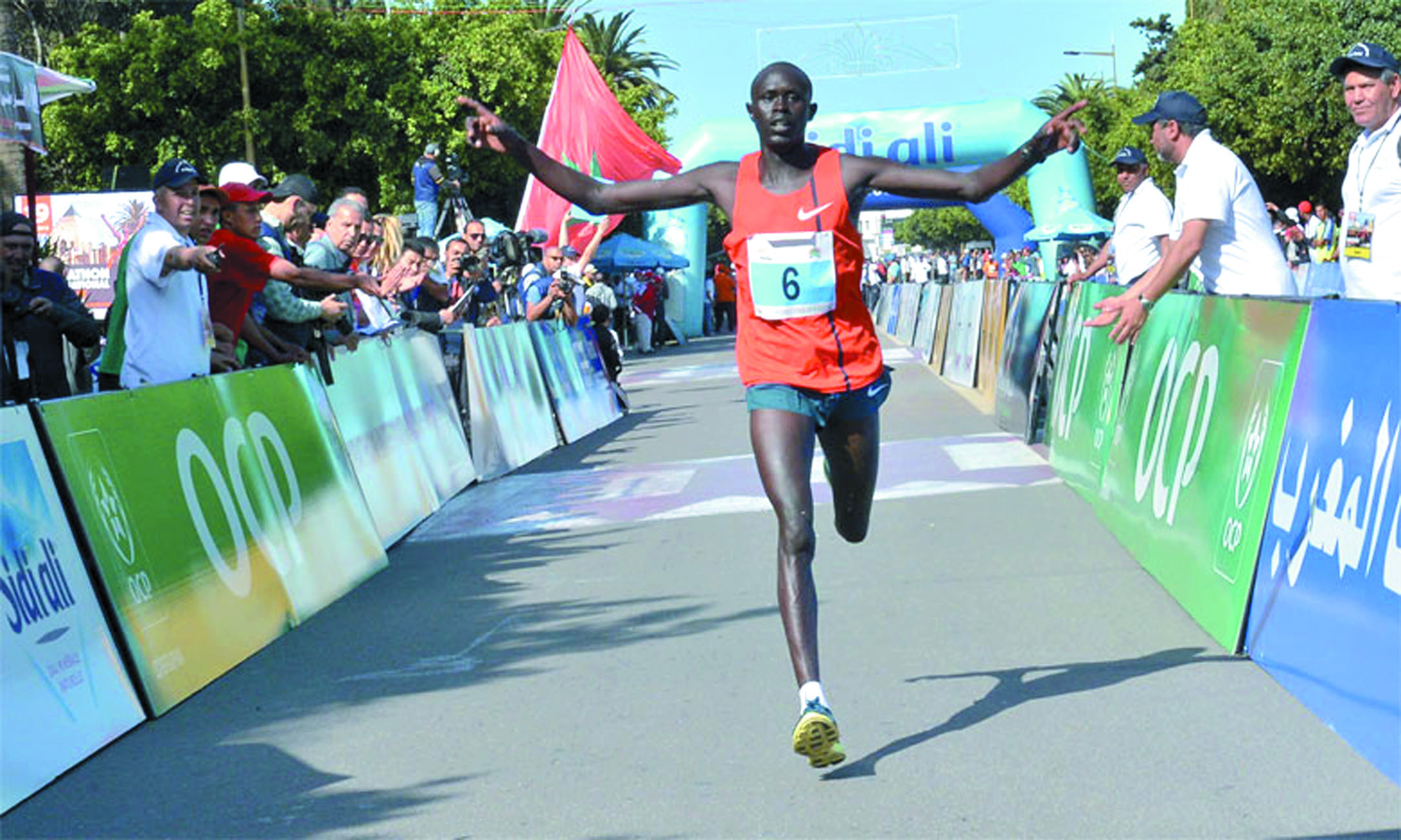 Des top runners de renom au Marathon international de Rabat