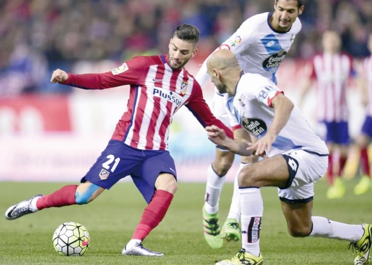 Carrasco, le turbo de l'Atletico