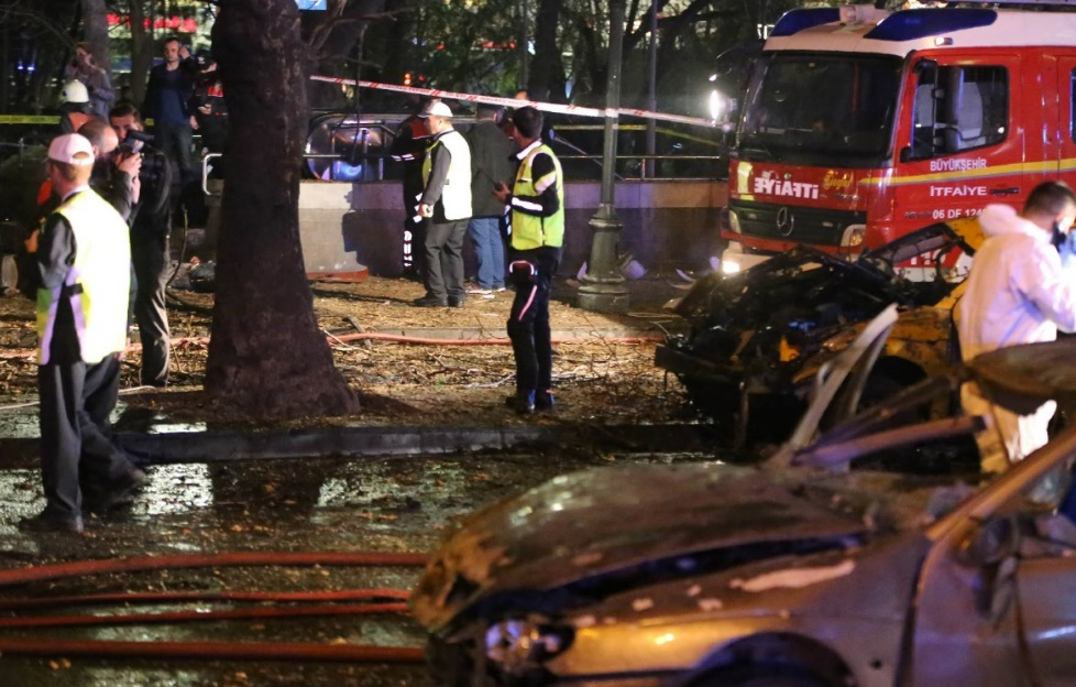 Un groupe radical kurde revendique l'attentat d'Ankara