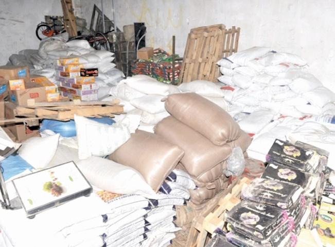 Destruction de 750 tonnes de produits impropres à la consommation