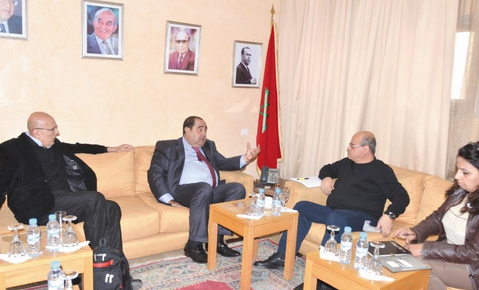 L'USFP réitère son engagement en faveur de la cause palestinienne