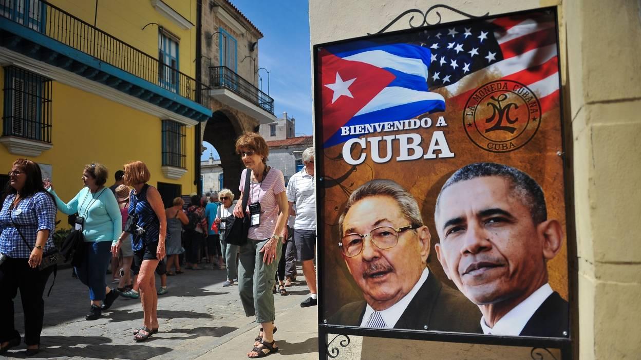 Barack Obama  à Cuba pour  récrire l'histoire