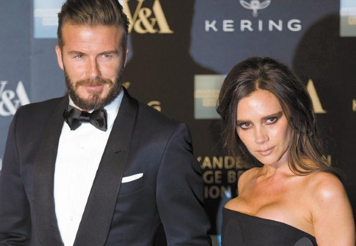 La vie privée des Beckham