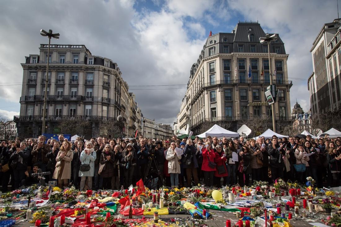 """La """"Marche contre  la peur""""  annulée  à Bruxelles"""