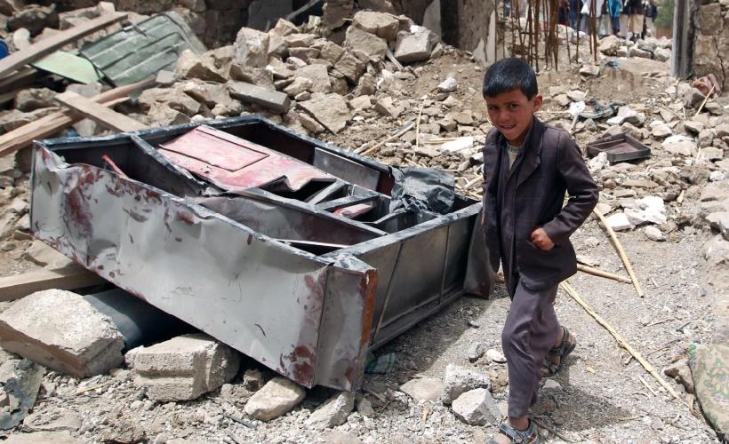 Six enfants tués ou blessés par jour au Yémen