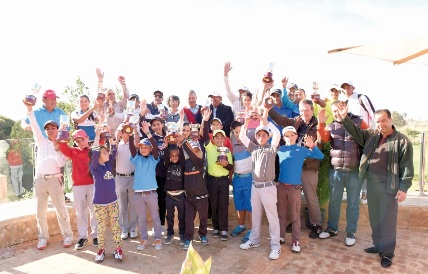 Participation massive au Junior Tour de golf