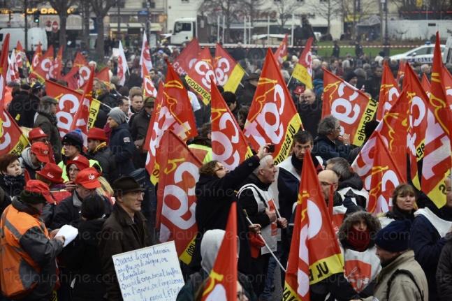 La politique sociale de François Hollande à nouveau contestée dans la rue